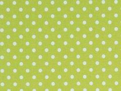 Grön - Vita prickar