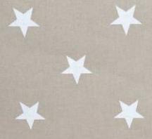 Beige - Vita stjärnor